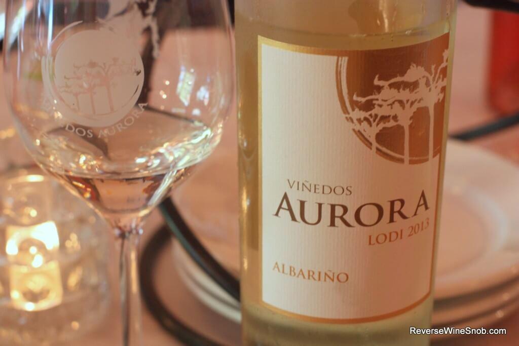 The 2013 Vinedos Aurora Albarino