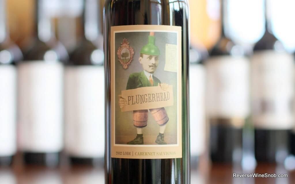 Plungerhead Lodi Cabernet Sauvignon - A Conversation Starter