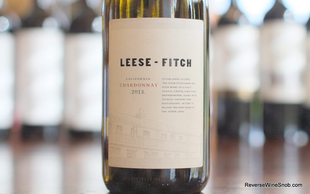 Leese-Fitch Chardonnay - A Smooth Operator