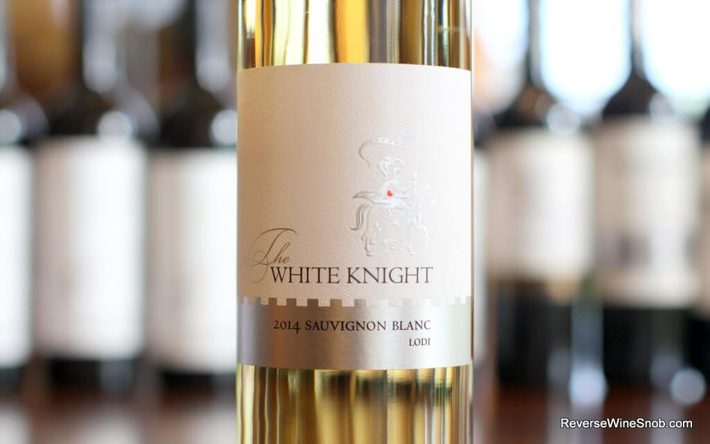 The White Knight Sauvignon Blanc - Quite Quaffable
