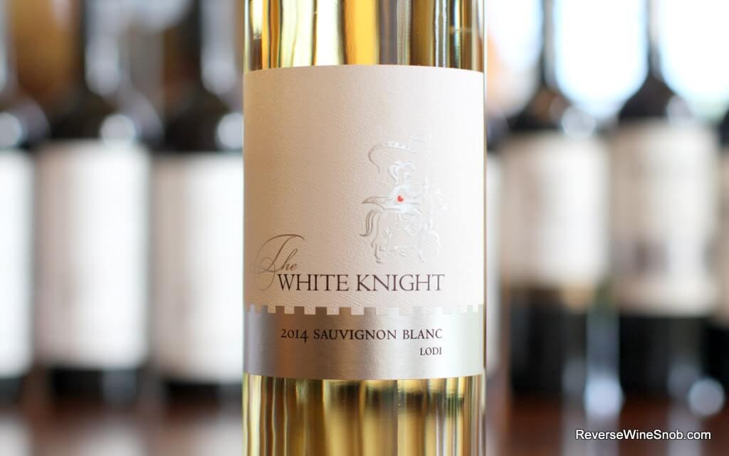 The White Knight Sauvignon Blanc - Quite Quaffable
