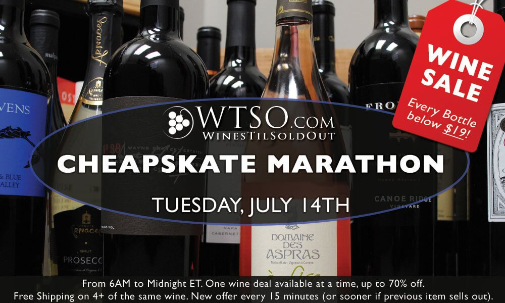 The WTSO Cheapskate Marathon - A Can't Miss Event