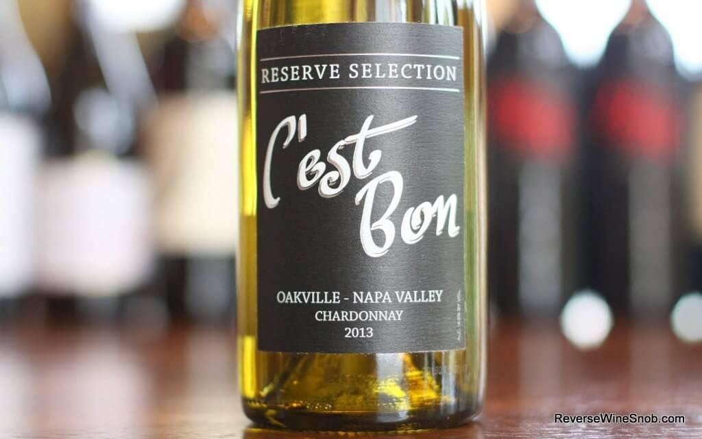 C'est Bon Reserve Oakville Chardonnay