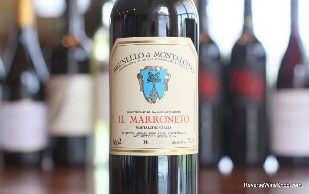 The Il Marroneto Brunello di Montalcino