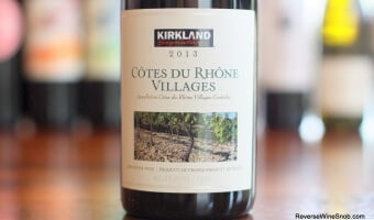 Kirkland Signature Cotes du Rhone Villages – A Whole Lot of Complexity For $7