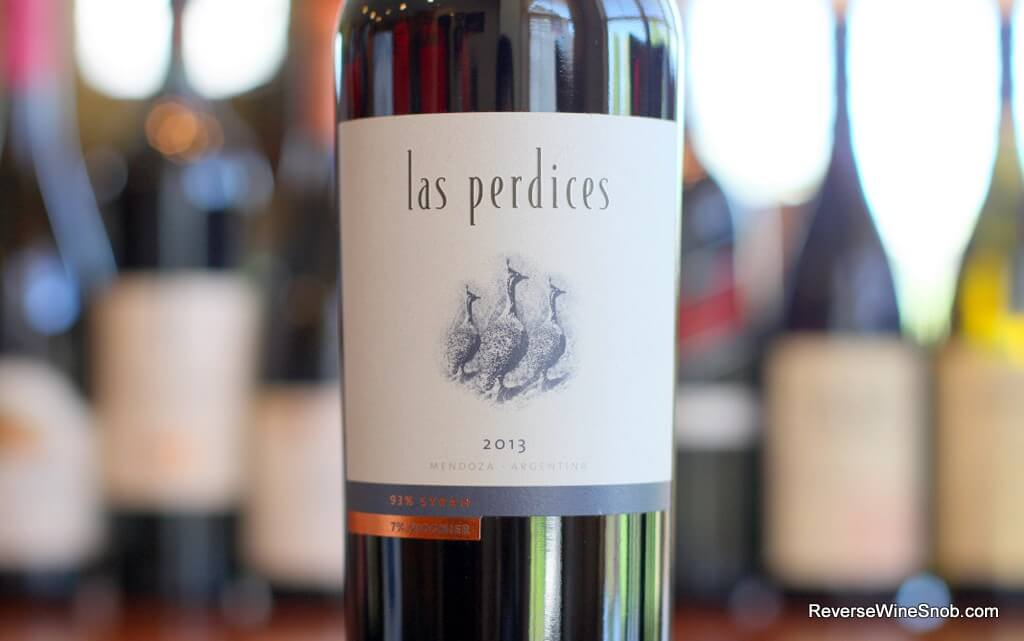 Las Perdices Syrah Viognier - A Northern Rhone Classic From The New World
