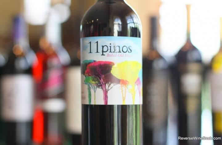 11 Pinos Bobal Old Vines - Dark, Meaty and Darn Good