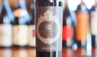 Santa Rita Secret Reserve Red Blend – Value Revealed