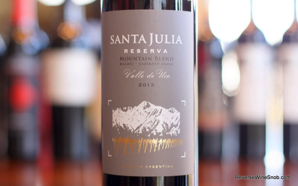 Santa Julia Reserva Mountain Blend - Much More Than Malbec