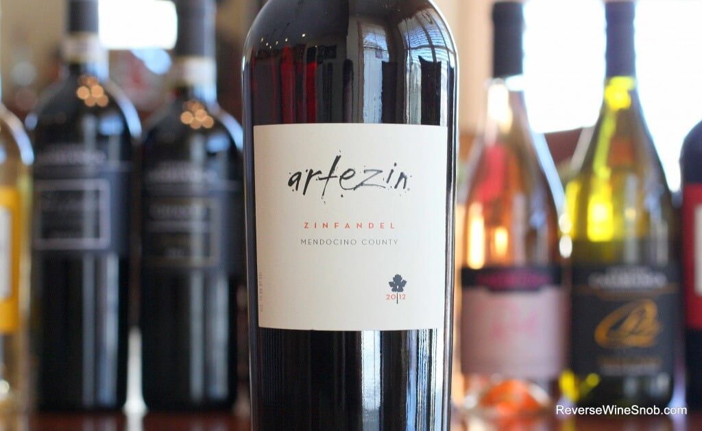 Artezin Mendocino County Zinfandel – Zin At Its Best