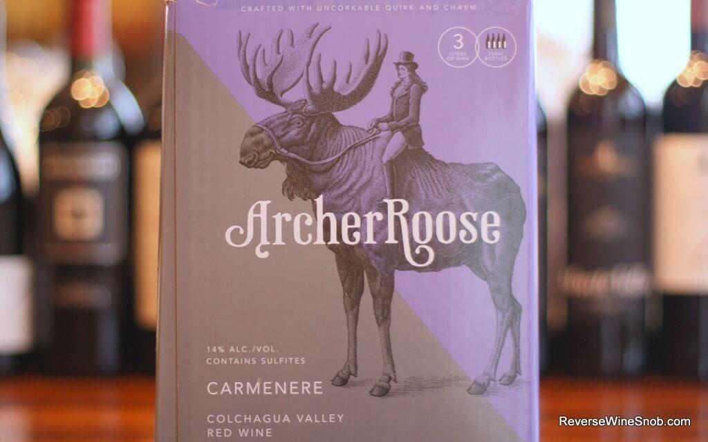 Archer Roose Carmenere - Hits the Bullseye