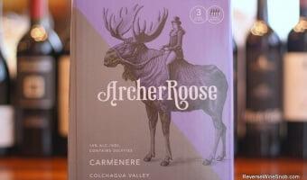 Archer Roose Carmenere – Hits the Bullseye