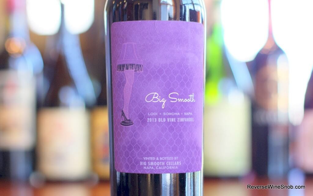 Big Smooth Old Vine Zinfandel - A Major Award