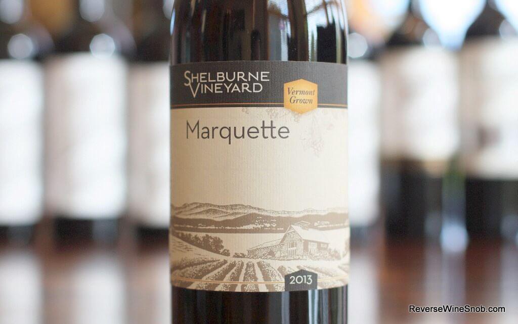 Shelburne Vineyard Marquette - Viva Vermont Wine