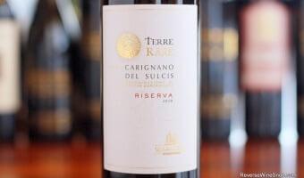 Terre Rare Carignano del Sulcis Riserva - Succulent Sardinia