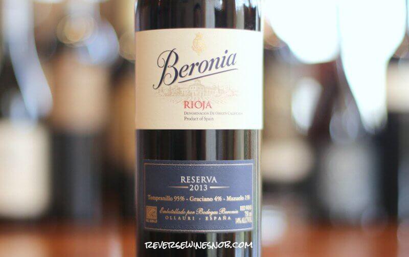 Beronia Rioja Reserva - Brilliant