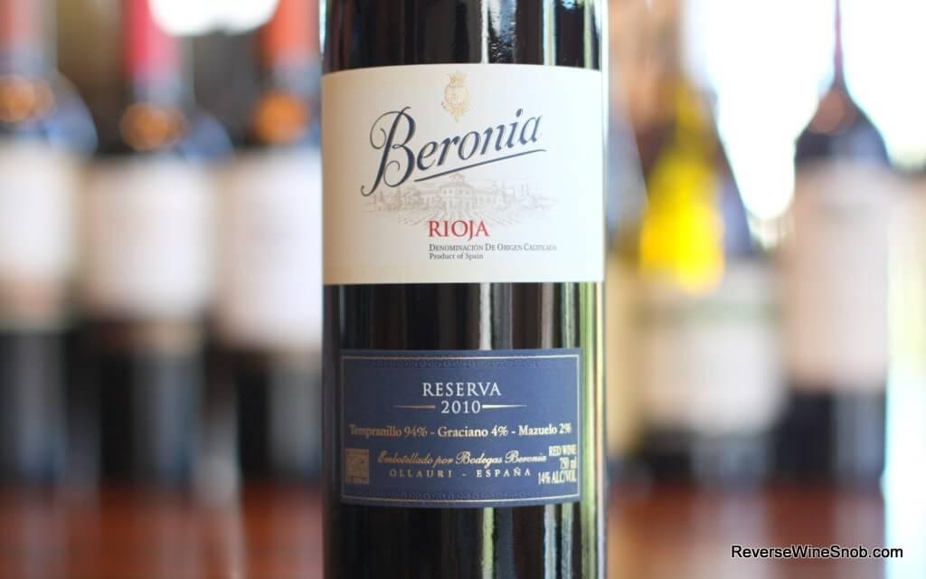 Bodegas Beronia Rioja Reserva - Brilliant