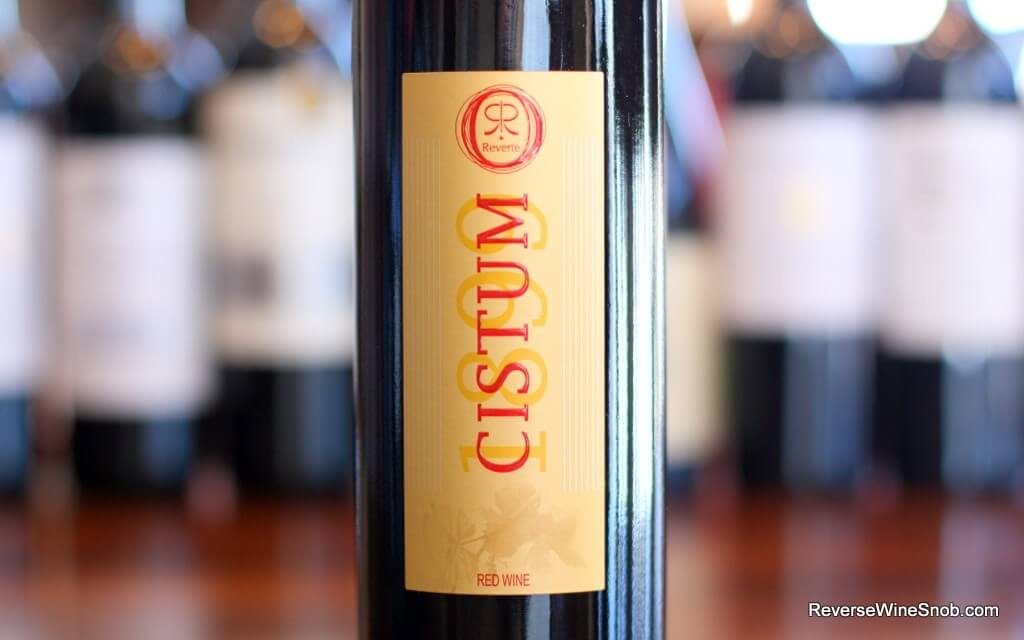 Rafael Reverte Cistum Red - Great Garnacha!