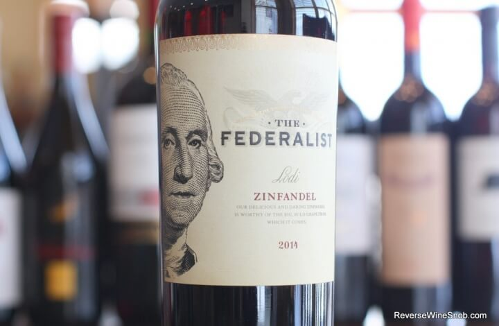 Federalist Lodi Zinfandel - True To Form