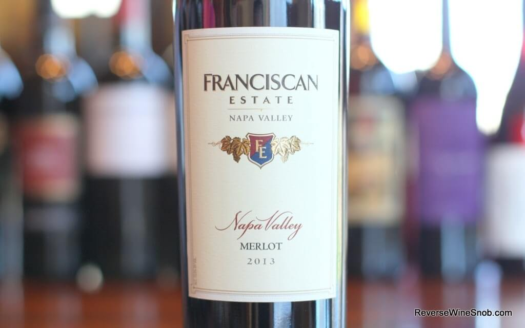 Franciscan Estate Napa Valley Merlot - Magnificent Merlot