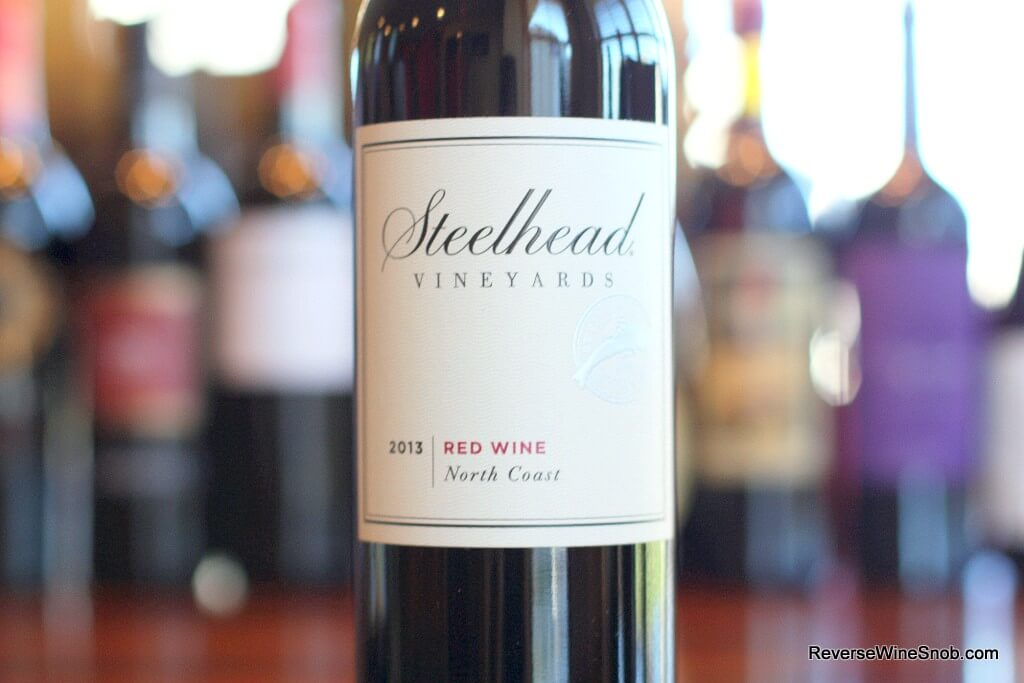 Steelhead Vineyards North Coast Red - A Keeper