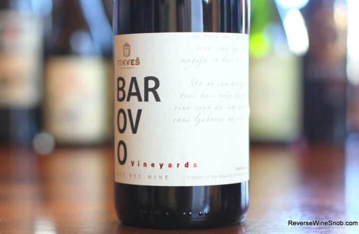 Tikves Barovo - A Meaty Wine From Macedonia