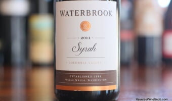 Waterbrook Syrah – Solidly Satisfying!