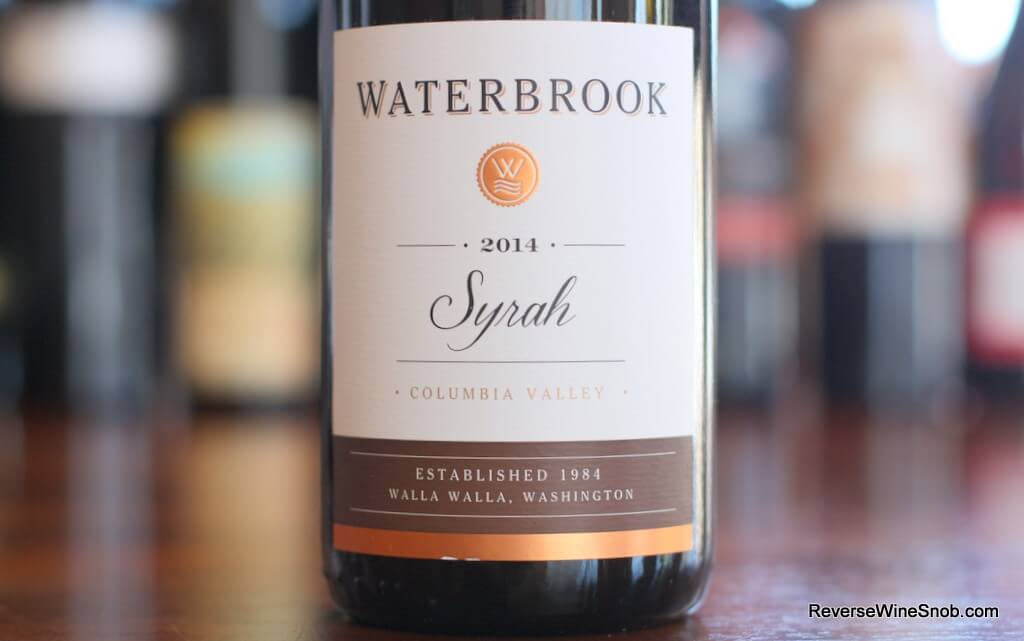 Best Water Bottle >> Waterbrook Syrah - Solidly Satisfying! Reverse Wine Snob®