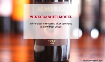 Toro Tempranillo from Winecrasher - A Rare Treat
