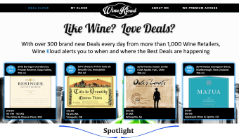 Wine Kloud – Daily Wine Deals The Easy Way