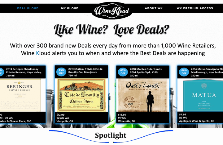 Wine Kloud - Daily Wine Deals The Easy Way