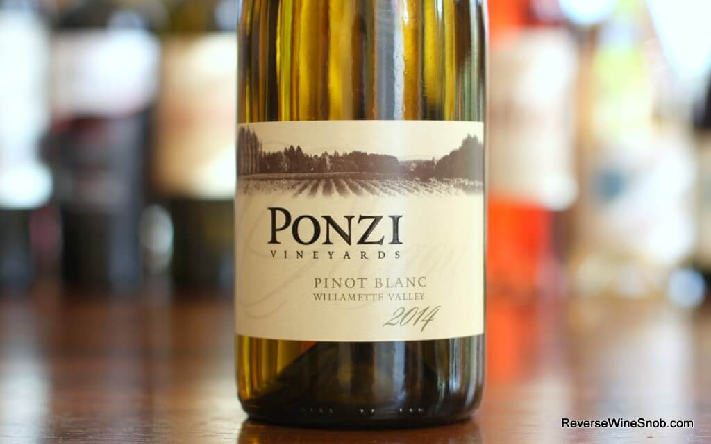 Ponzi Pinot Blanc - The Third Pinot