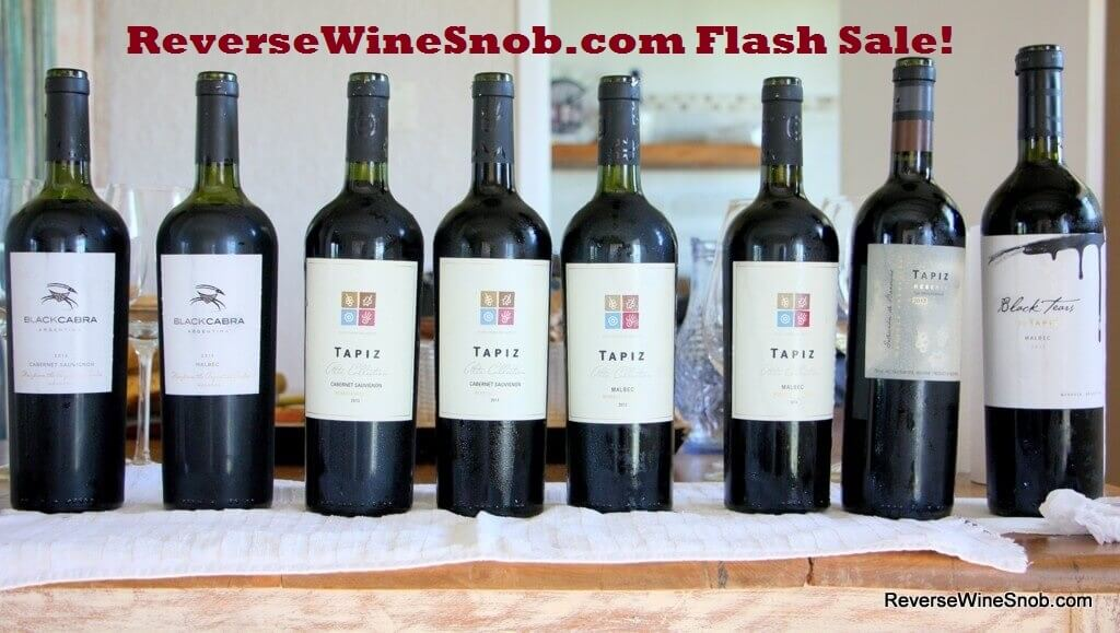 Wine Flash Sale!