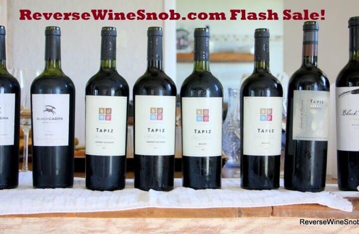 Wine Flash Sale!