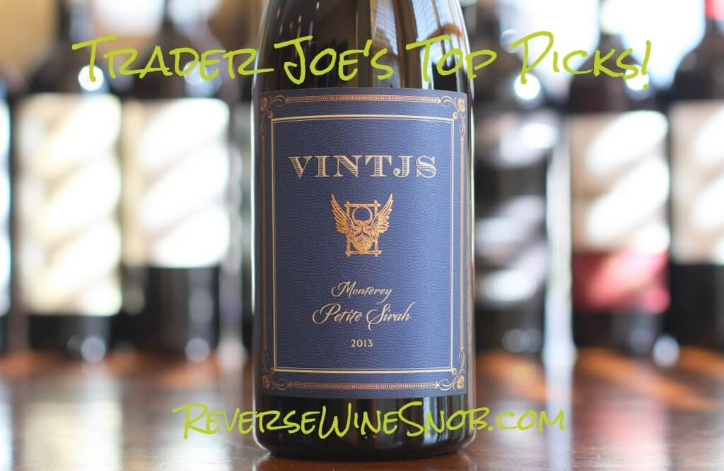VINTJS Monterey Petite Sirah - Big Value