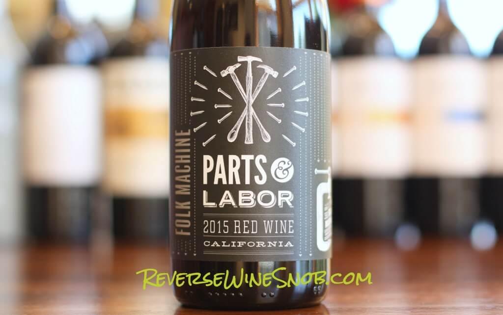 folk machine parts  u0026 labor red wine
