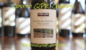 Kirkland Signature Cotes du Rhone Villages – A Whole Lot of Complexity For $7