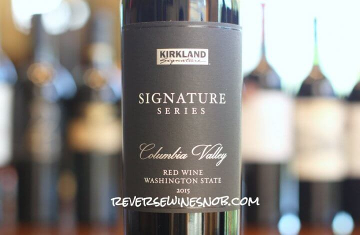 Kirkland Signature Series Columbia Valley Red Wine - Something Special