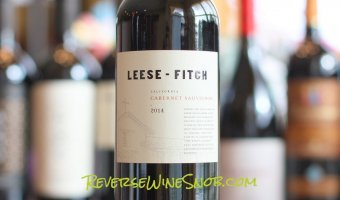 Leese-Fitch Cabernet Sauvignon – Hits The Spot