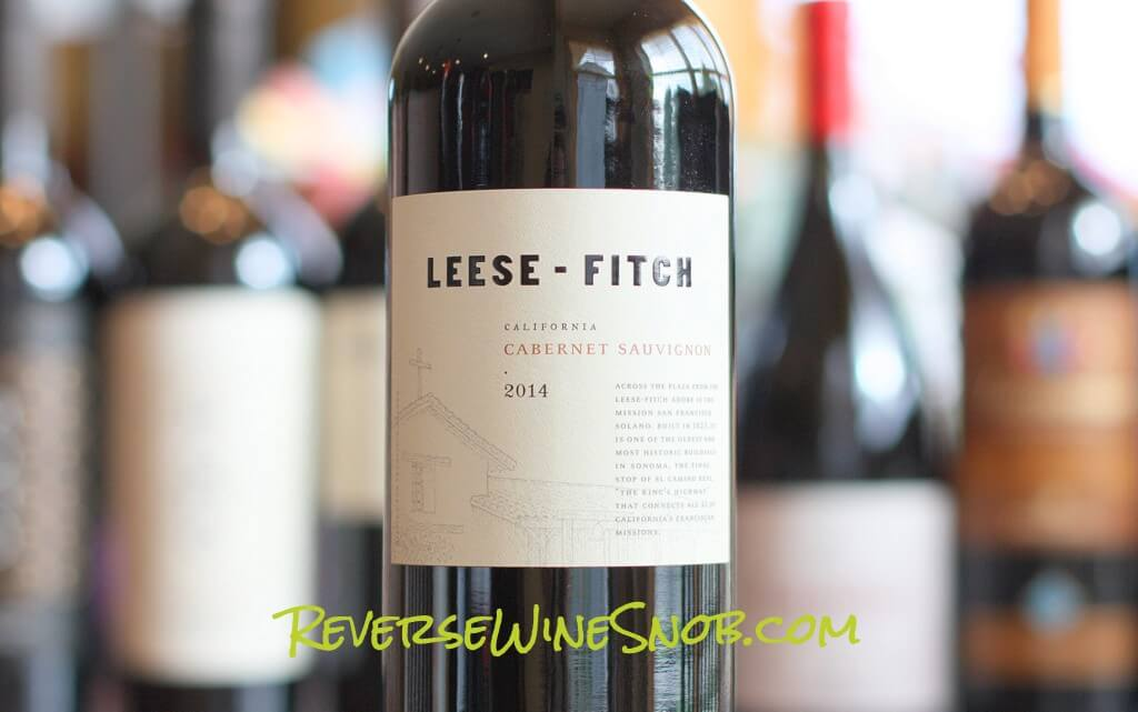 Leese-Fitch Cabernet Sauvignon - Hits The Spot