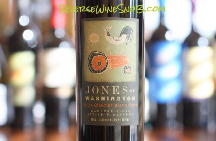 Jones of Washington Cabernet Sauvignon - Juicy!