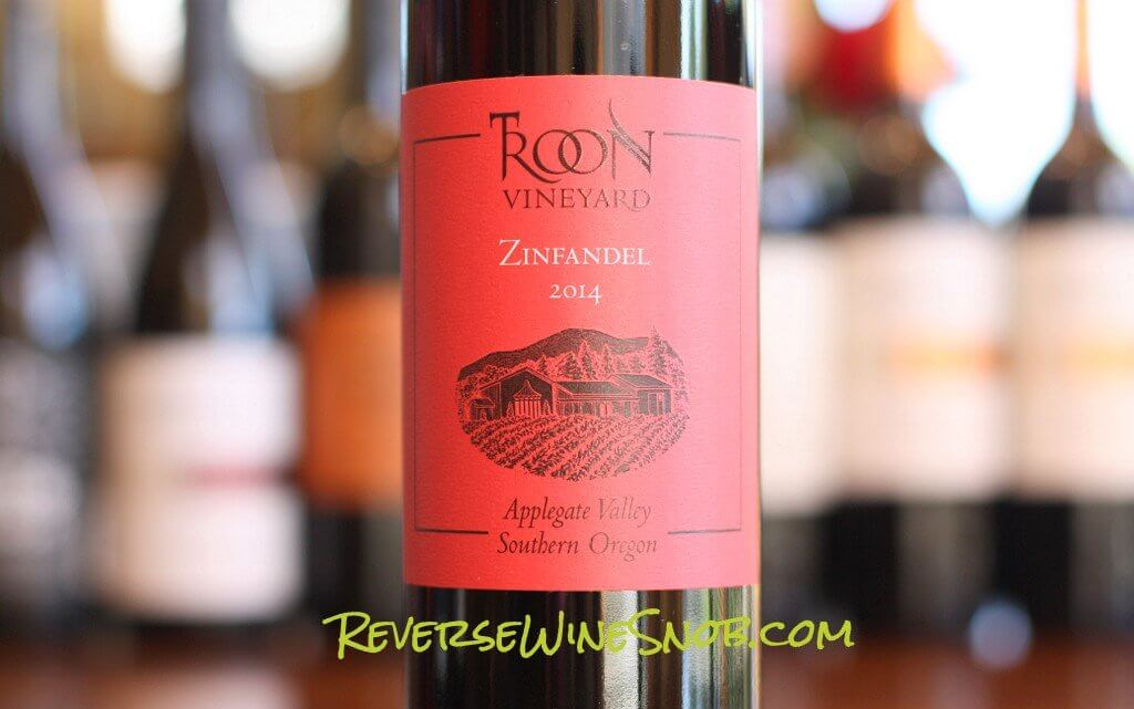 Troon Red Label Zinfandel - A Classy, Complex Zin