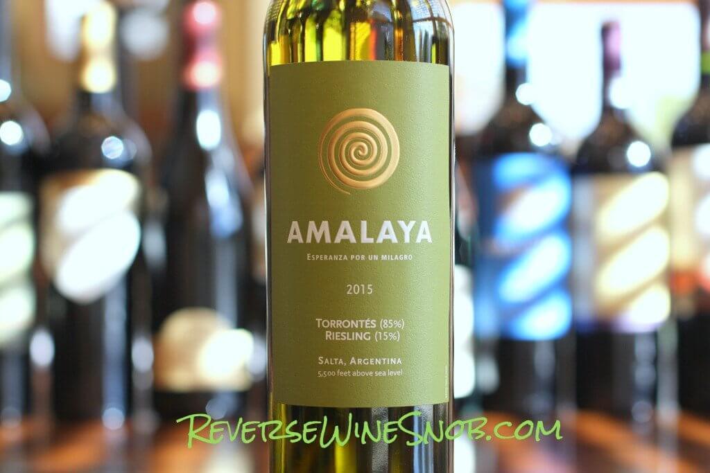 Amalaya Blanco - A Jolt of Refreshment
