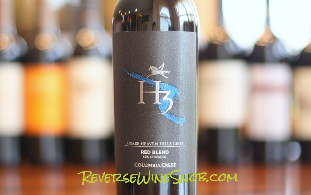 columbia crest h3 les chevaux red for the win - Best Red Wine