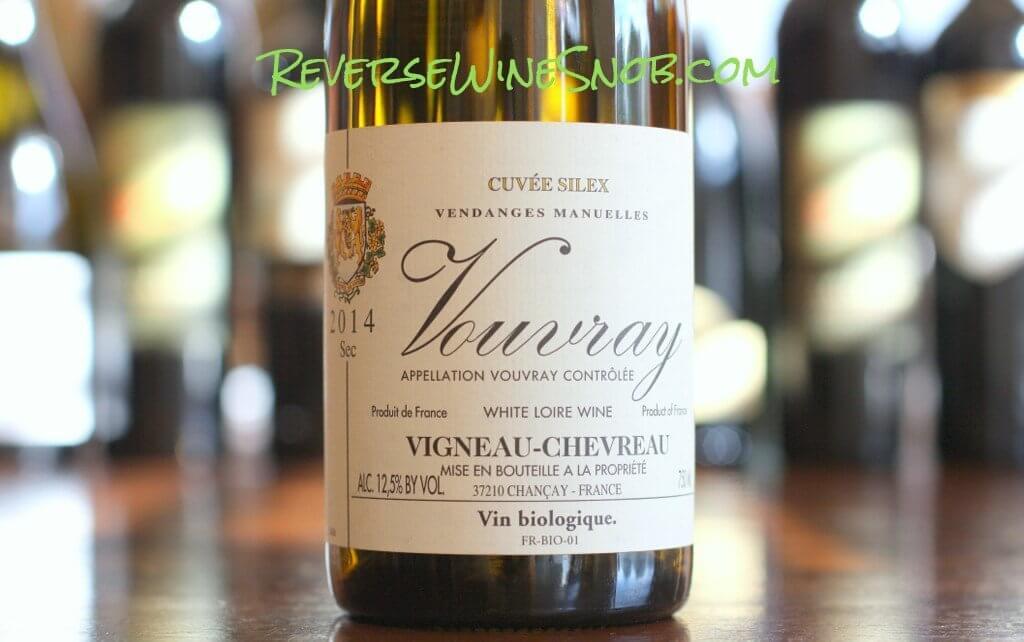 Domaine Vigneau-Chevreau Vouvray Cuvee Silex Sec - A Pleasure