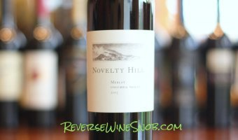 Novelty Hill Merlot – This Ain't Your Grandmother's Merlot