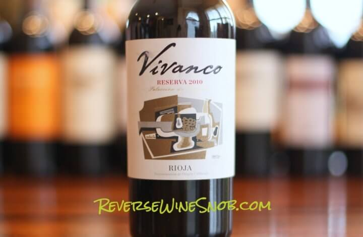 Vivanco Rioja Reserva - A Work of Art