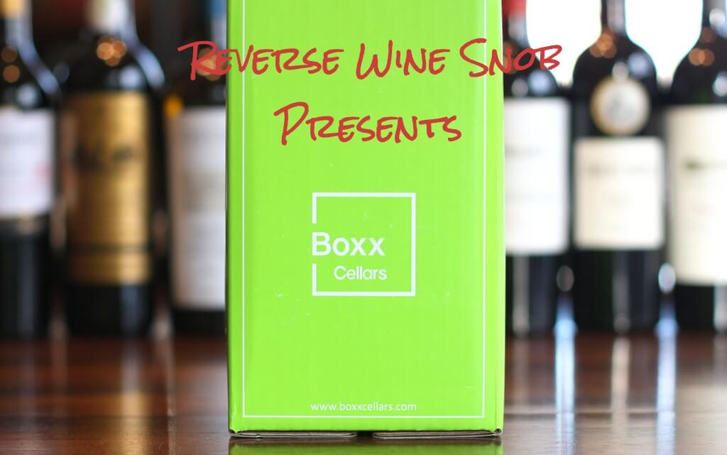 Reverse Wine Snob Presents Boxx Cellars