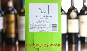 Boxx Cellars Sangiovese – Truly Tasty