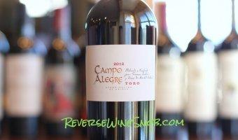 Campo Alegre Toro – One Tasty Tempranillo